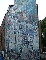 Gable mural, Tottenham Street - geograph.org.uk - 1975299.jpg