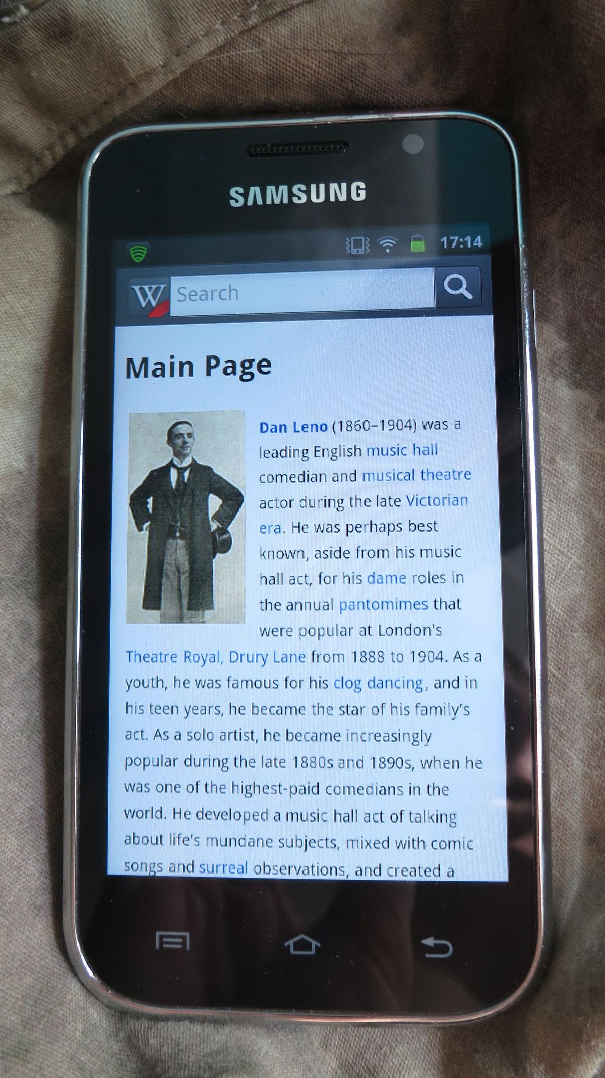 Samsung Galaxy Player - Wikipedia