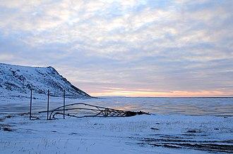 Gambell, Alaska - Image: Gambell Alaska