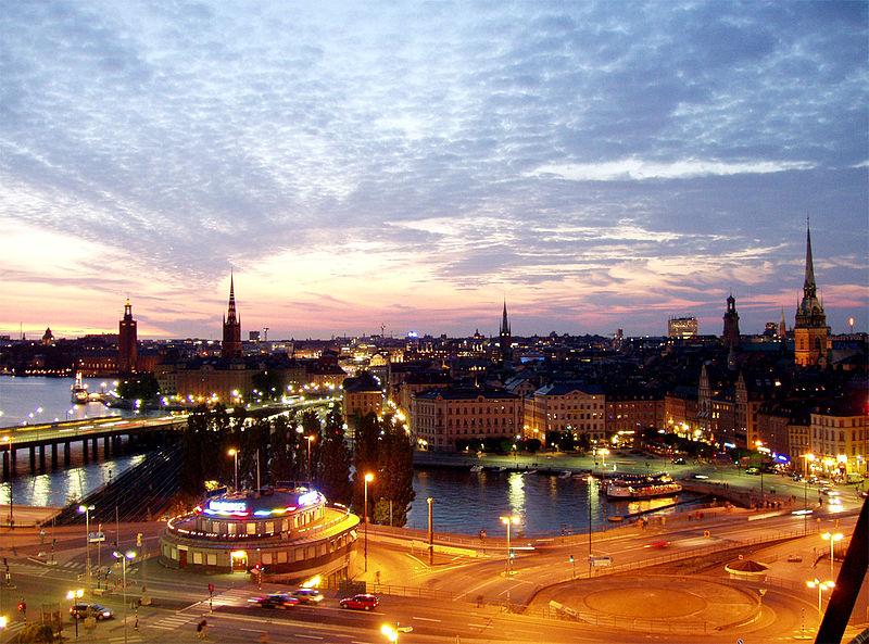 Viajar sozinho na Europa para conhecer Estocolmo