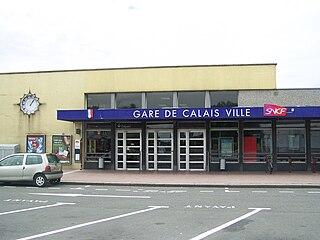 Gare de Calais-Ville railway station in France