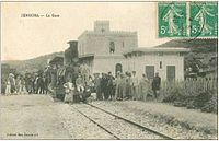 Gare de Zemmora avant 1962.jpg