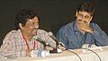 "Gautam Ghose briefing the press on the film ""Yatra"" at Black Box, Kala Academy on the occasion of 37th International Film Festival (IFFI-2006) in Panaji, Goa on December 1, 2006.jpg"