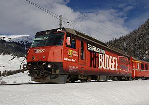 Rhaetian Railway Ge 4/4 III - Image: Ge 44 III Berguen