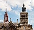 Gedeelte van Basiliek van Sint Servaas in Maastricht, provincie Limburg in Nederland 02.jpg