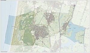 Castricum - Dutch Topographic map of Castricum, June 2015