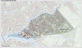 Krimpen aan den IJssel - Image: Gem Krimpenad I Jssel Open Topo