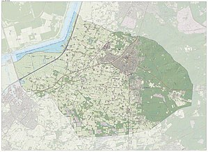 Putten - Dutch Topographic map of the municipality of Putten, June 2015