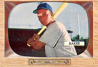 Gene Baker American baseball player