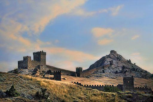 Genova kindlus.Sudak.Krimm