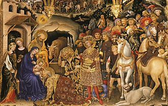 Adoration of the Magi - ''Adoration of the Magi'', Gentile da Fabriano, 1423