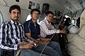 Geology students of Nepal on study tour to earthquake affected areas being airlifted by an Indian Air Force (IAF) Mi-17 V5 helicopter post a recent massive earthquake, in Nepal on May 21, 2015.jpg