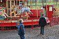 George Newsomes gallopers, Beamish Museum, 12 April 2008.jpg
