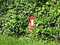 George V postbox near Whitfield Church (2) - geograph.org.uk - 844741.jpg
