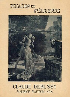 Жорж Рошегросс - Постер к премьере оперы Клод Дебюсси и Мориса Метерлинка «Пеллеас и Мелисанда».