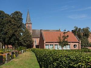 Georgsdorf - Image: Georgsdorf, die evangelisch reformierte Kirche foto 4 2016 09 25 13.00