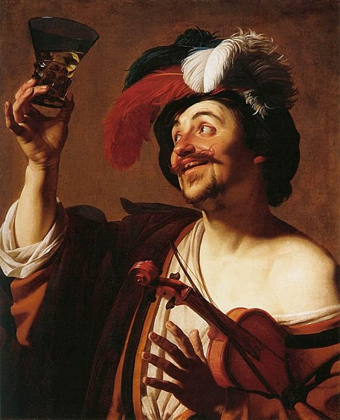 File:Gerard van Honthorst - The Happy Violinist with a Glass of Wine - WGA11668.jpg