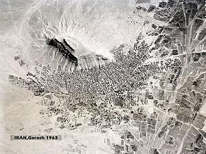 Gerash - Historical Urban rural of Gerash (1963)