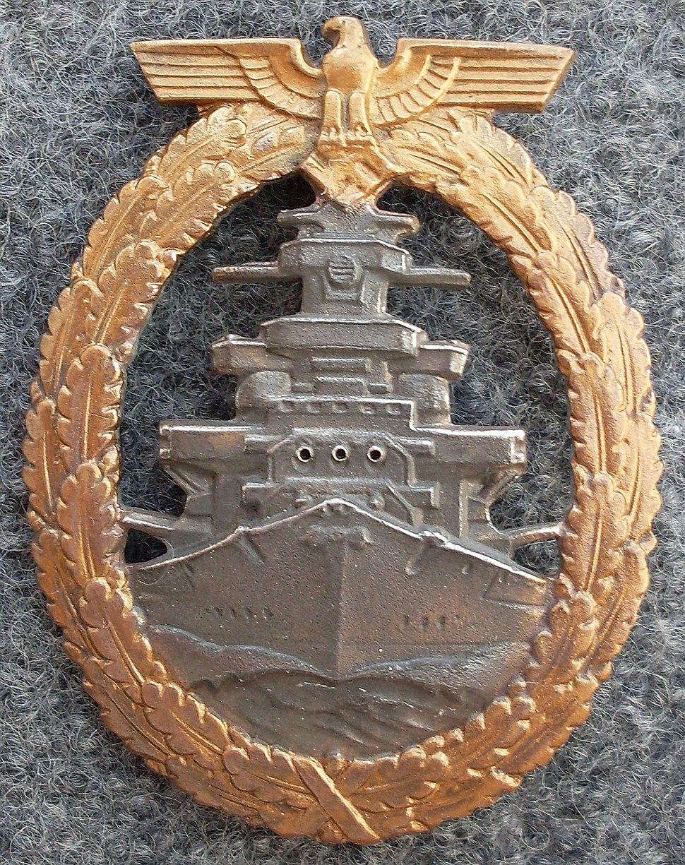 German High Seas Fleet Badge