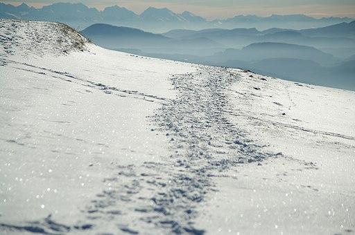 Gersbach blick gen alpen