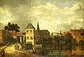 Gezicht op de stad Haarlem over het Spaarne bij de Eendjespoort Rijksmuseum SK-A-1594.jpeg
