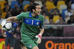 Gianluigi Buffon Euro 2012 vs England 02