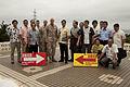 Ginowan, Futenma officials sign agreement specifying disaster preparedness procedures 130626-M-CU214-100.jpg