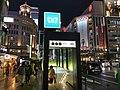 Ginza Station A2 exit Nov 11 2019 rainy night 17 11 39 555000.jpeg