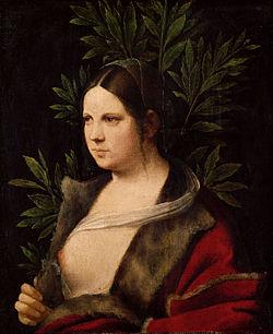 Laura (1506) Kunsthistorisches Museum, Vienna