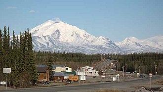 Glennallen, Alaska - Downtown Glennallen, Alaska