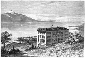 Glion - Image: Glion hotel victoria 1878