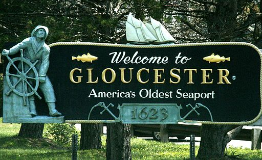 Gloucester MA - welcome sign