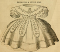 Godey's Lady's Book (1861) INFANT DRESS 01.png