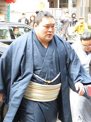 Gōeidō Gōtarō - Image: Goeido in Harubasho 2013 IMG 1886 2 20130324