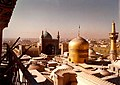 Golden Dome of Imam Reza shrine and Goharshad Mosque - 1976.jpg