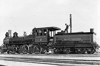 Tonopah and Tidewater Railroad - Image: Goldfield Consolidated Mining Co No. 2
