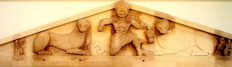 File:Gorgon at the Corfu Archaelogical Museum.jpg