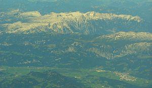Totes Gebirge - Aerial photo of Totes Gebirge