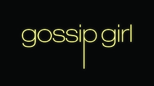 English: This is a title card for Gossip Girl ...