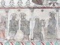 Gotland-Oeja Kirka Wandmalerei Anbetung der Könige.jpg