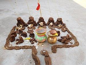 Govardhan Puja - Govardhan -1