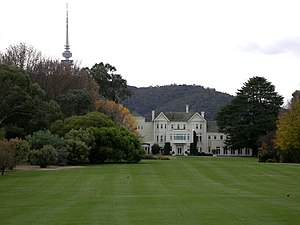 "Politics of Australia - Government House, Canberra, also known as ""Yarralumla"", is the official residence of the Governor-General."