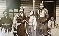 Grace with Pawnee friends in Oklahoma circa 1904.jpg