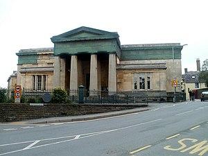 Brecknock Museum - Image: Grade II* listed Brecknock Museum, Brecon (geograph 2609201)