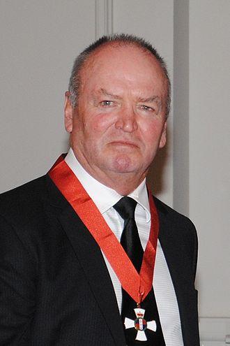 2012 New Year Honours (New Zealand) - Image: Graham Henry knight 2012