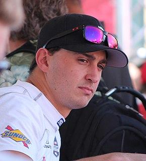 Graham Rahal American racecar driver