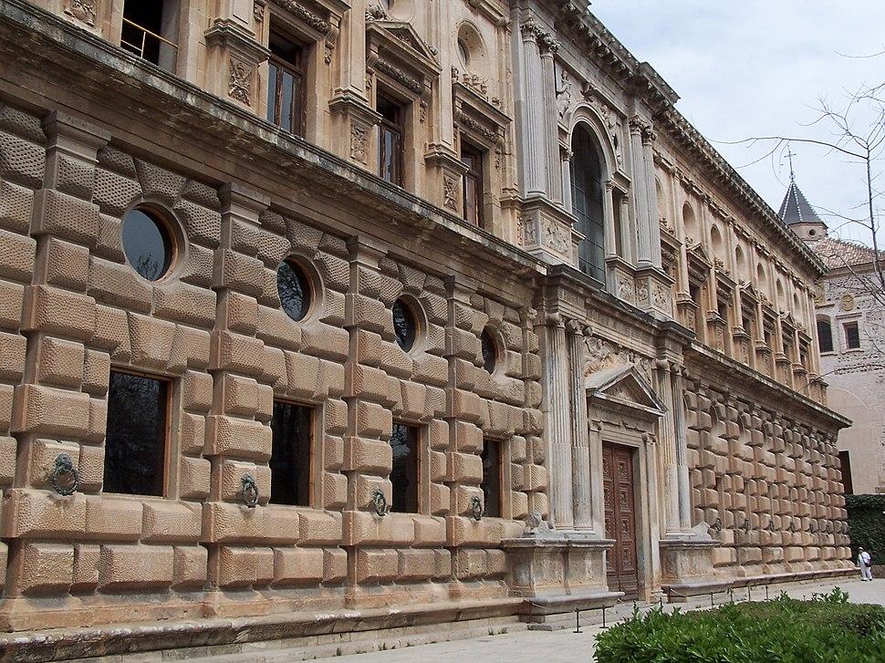 Granada Alhambra Palacio Carlos V Exterior