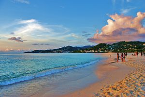 English: Grand Anse Beach, St. George's, Grena...
