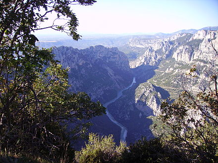 The Gorge du Verdon. Grand Canyon du Verdon.JPG
