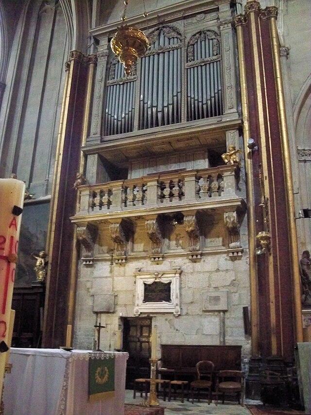 Orgue de la cathédrale St Siffrein de Carpentras